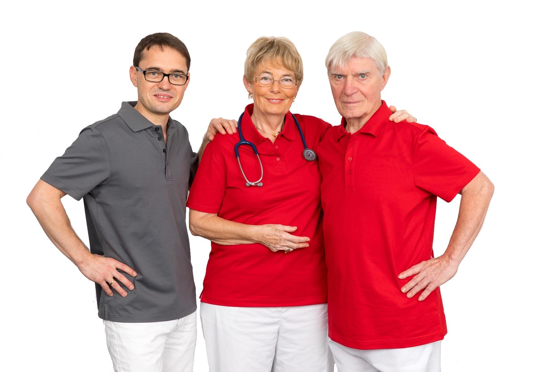 Drs. Weinrich mit Dr. med. Daniel, Renate und Lutz Weinrich