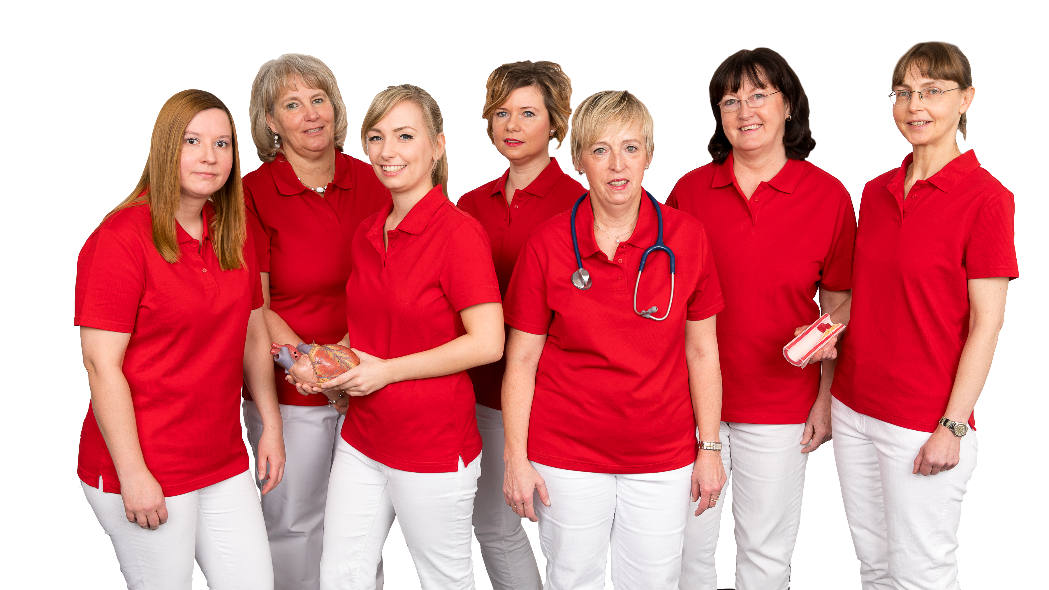 Unser Team Petra, Ines, Jennifer, Doreen, Liane, Kerstin & Esther.